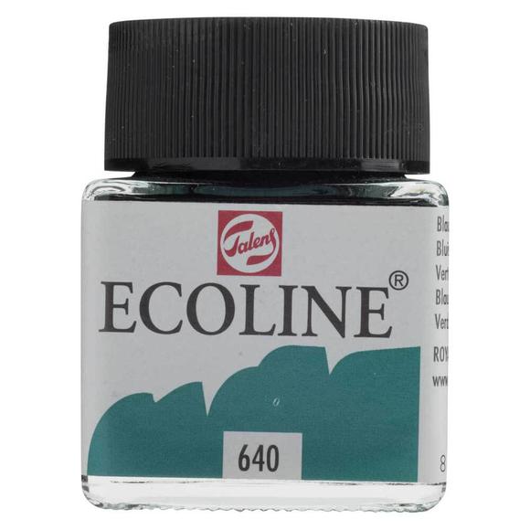 Talens Ecoline Sıvı Suluboya 30 ml Bluish Green 640