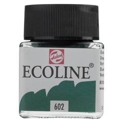 Talens Ecoline Sıvı Suluboya 30 ml Deep Green 602 - Thumbnail