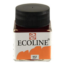 Talens Ecoline Sıvı Suluboya 30 ml Deep Orange 237 - Thumbnail