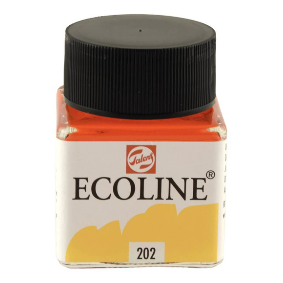 Talens Ecoline Sıvı Suluboya 30 ml Deep Yellow 202