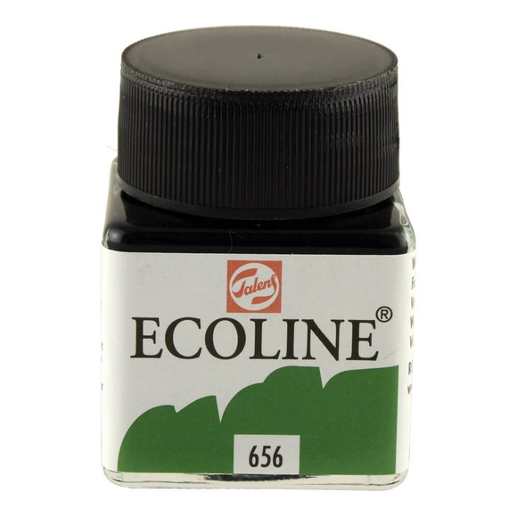 Talens Ecoline Sıvı Suluboya 30 ml Forest Green 656