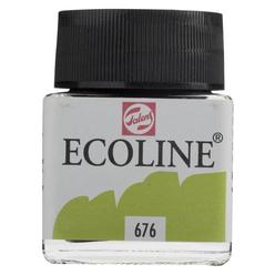Talens Ecoline Sıvı Suluboya 30 ml Grass Green 676 - Thumbnail