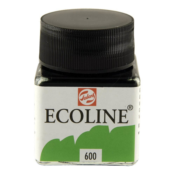 Talens Ecoline Sıvı Suluboya 30 ml Green 600