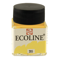 Talens Ecoline Sıvı Suluboya 30 ml Lemon Yellow 205 - Thumbnail