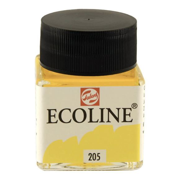Talens Ecoline Sıvı Suluboya 30 ml Lemon Yellow 205