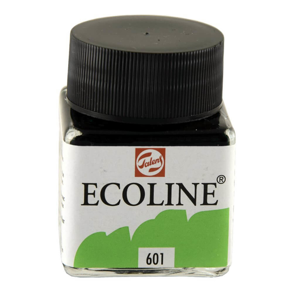 Talens Ecoline Sıvı Suluboya 30 ml Light Green 601