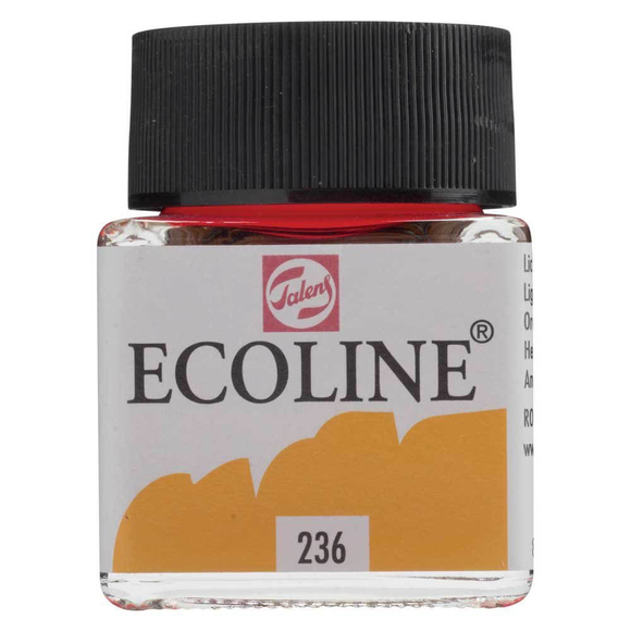 Talens Ecoline Sıvı Suluboya 30 ml Light Orange 236