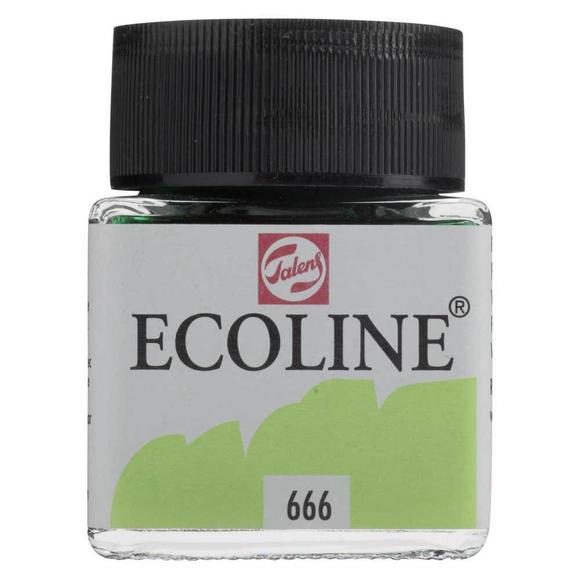 Talens Ecoline Sıvı Suluboya 30 ml Pastel Green 666