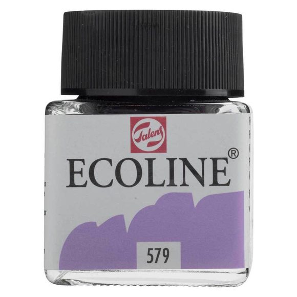 Talens Ecoline Sıvı Suluboya 30 ml Pastel Violet 579
