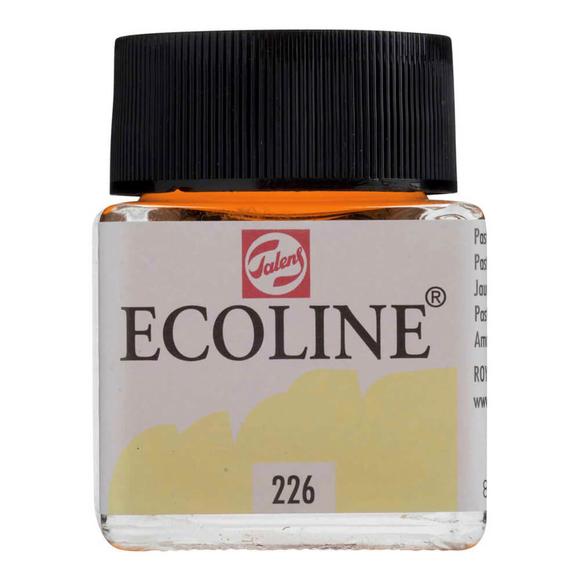 Talens Ecoline Sıvı Suluboya 30 ml Pastel Yellow 226