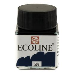 Talens Ecoline Sıvı Suluboya 30 ml Prussian Blue 508 - Thumbnail