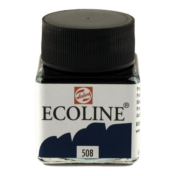 Talens Ecoline Sıvı Suluboya 30 ml Prussian Blue 508