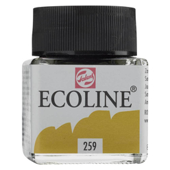 Talens Ecoline Sıvı Suluboya 30 ml Sand Yellow 259 - Thumbnail