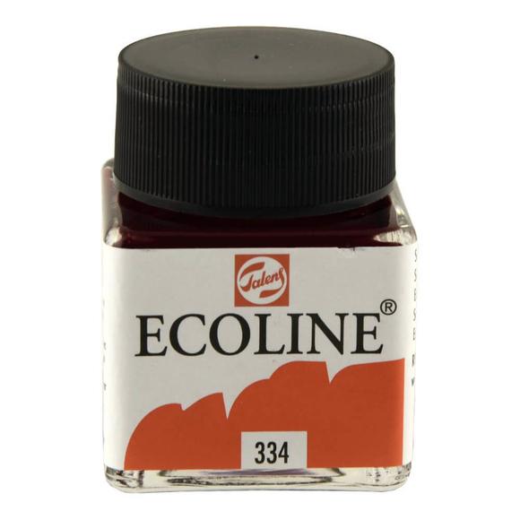 Talens Ecoline Sıvı Suluboya 30 ml Scarlet 334