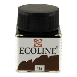 Talens Ecoline Sıvı Suluboya 30 ml Sepia 416 - Thumbnail