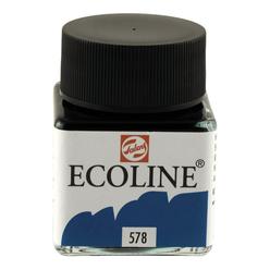 Talens Ecoline Sıvı Suluboya 30 ml Sky Blue Cyan 578 - Thumbnail