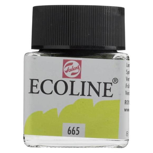 Talens Ecoline Sıvı Suluboya 30 ml Spring Green 665