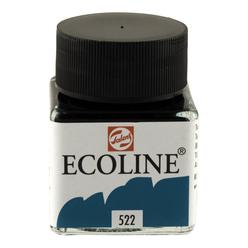 Talens Ecoline Sıvı Suluboya 30 ml Turquoise Blue 522 - Thumbnail