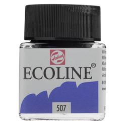 Talens Ecoline Sıvı Suluboya 30 ml Ultramarine Violet 507 - Thumbnail