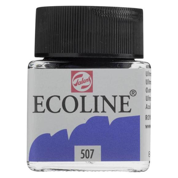 Talens Ecoline Sıvı Suluboya 30 ml Ultramarine Violet 507