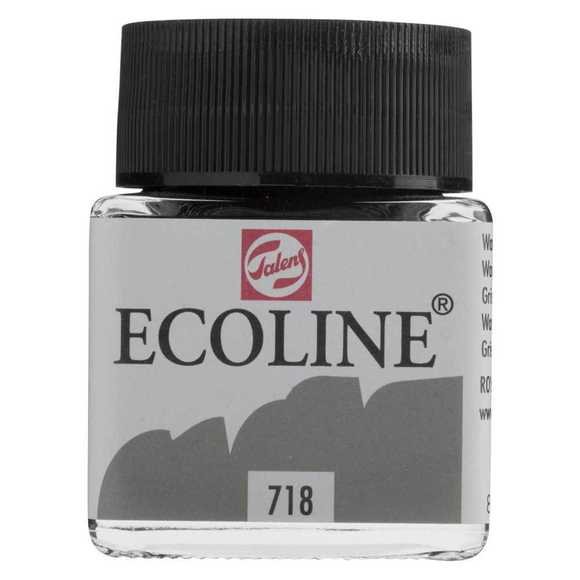 Talens Ecoline Sıvı Suluboya 30 ml Warm Grey 718
