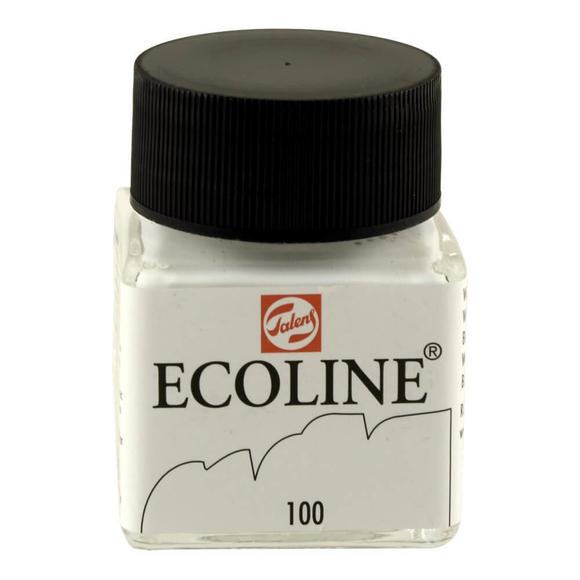 Talens Ecoline Sıvı Suluboya 30 ml White 100