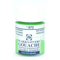 Talens Guaj Boya 16 ml Reflex Green 672 - Thumbnail