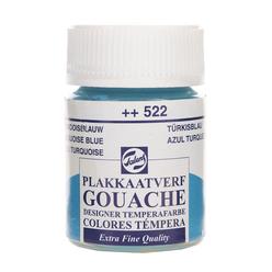 Talens Guaj Boya 16 ml Turquoise Blue 522 - Thumbnail