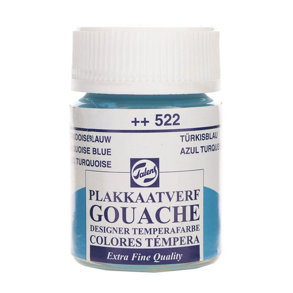 Talens Guaj Boya 16 ml Turquoise Blue 522