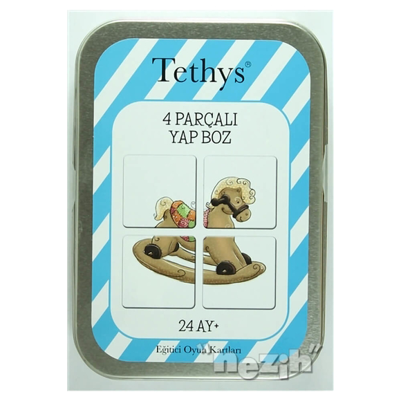 Tethys 4 Parçalı Yap Boz (Kutulu)