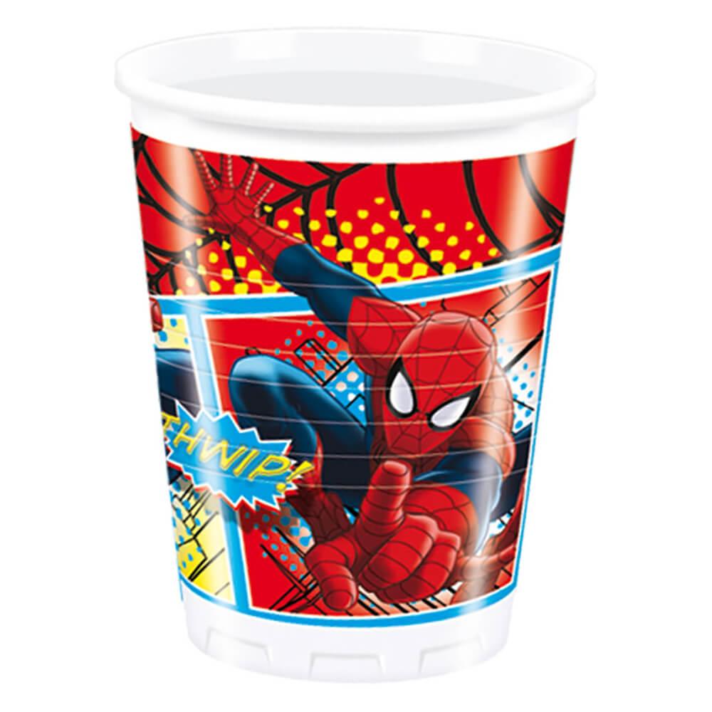 The Ultimate Spiderman Bardak 8 Li Nezih