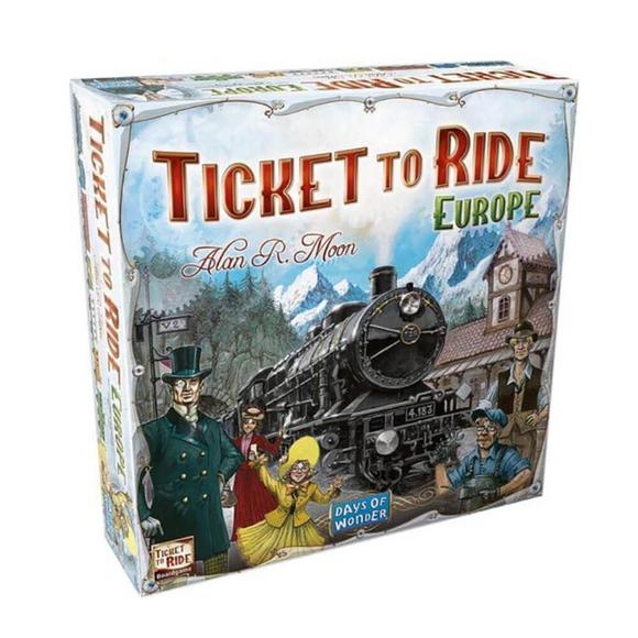 Ticket To Ride Kutu Oyunu