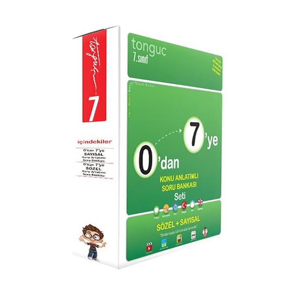 Tonguç 7. Sınıf 0'dan 7'ye Konu Anlatımlı Soru Bankası Seti