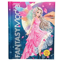 Top Model Fantasy Isikli Sesli Boyama Kitabi 43433 Nezih