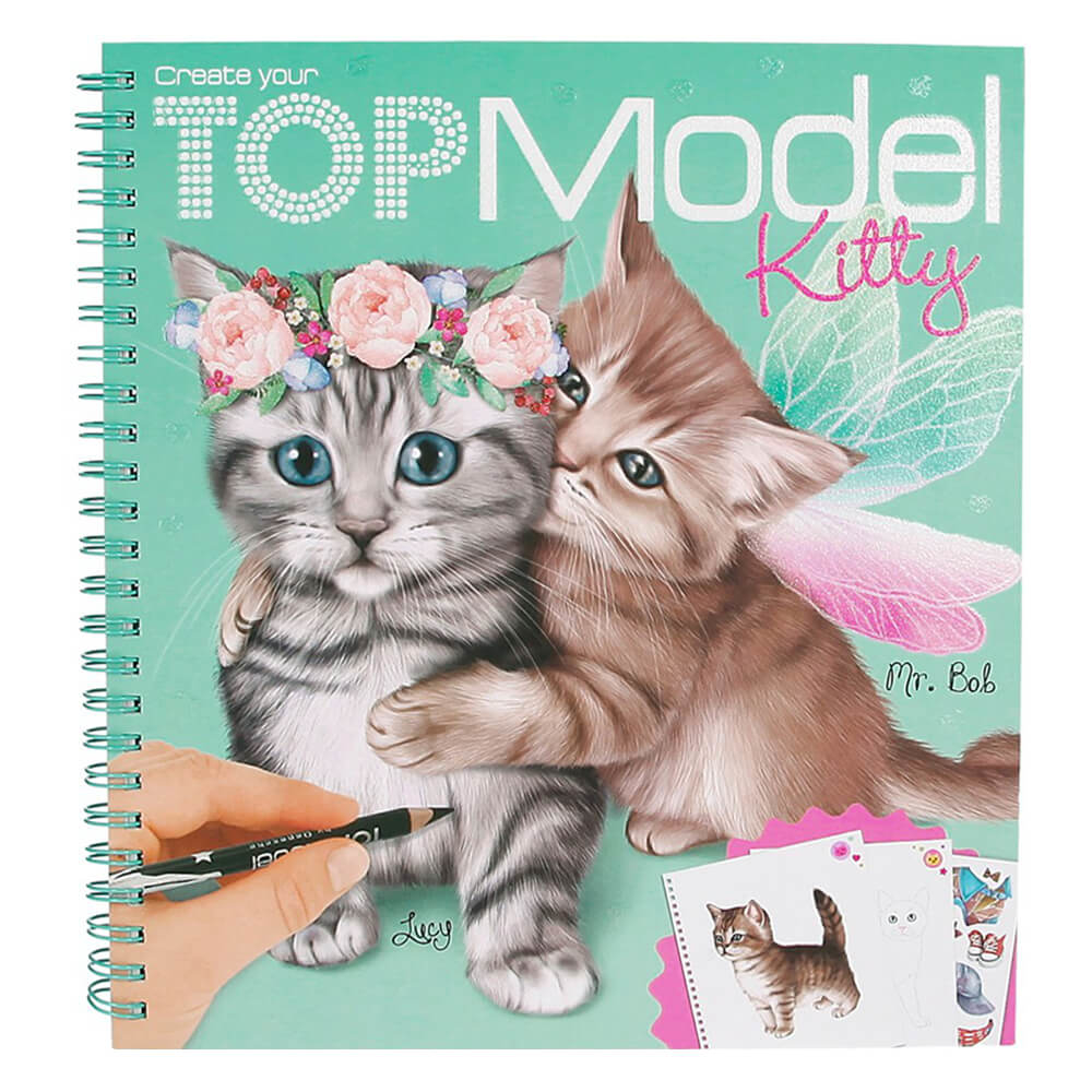 Top Model Kitty Boyama Kitabi 45361 Nezih