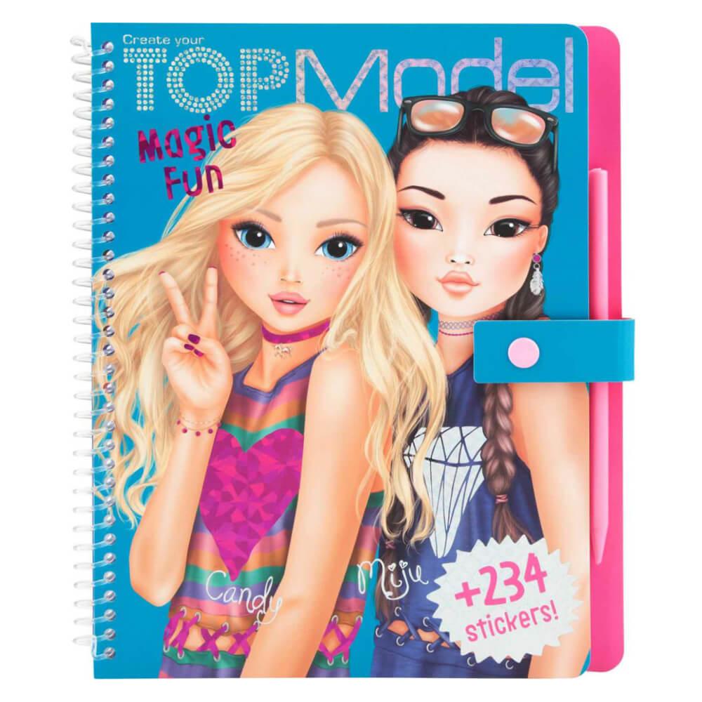 Top Model Magic Fun Boyama Kitabi 10015 Nezih