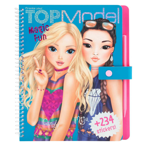 Top Model Magic Fun Boyama Kitabı 10015