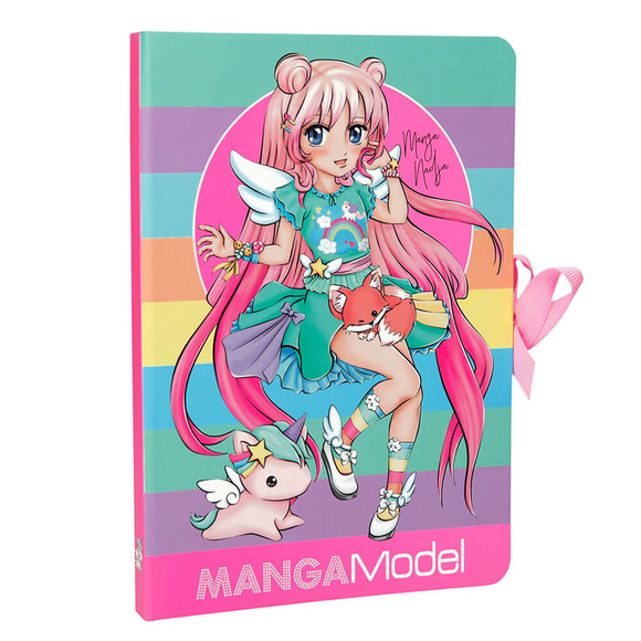 Top Model Manga Model Not Kağıdı Seti 46584