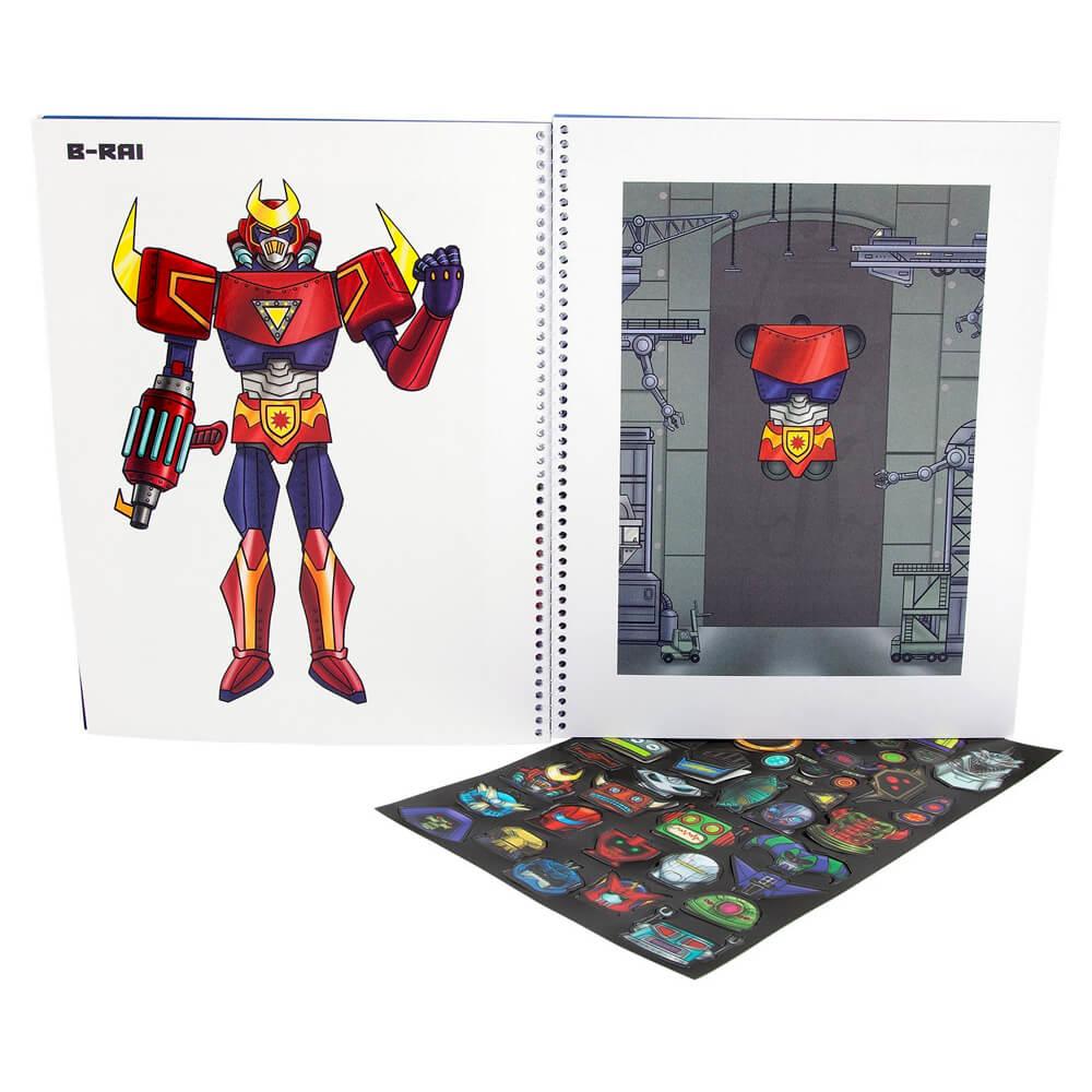 Top Model Robot Boyama Kitabi 41960 Nezih