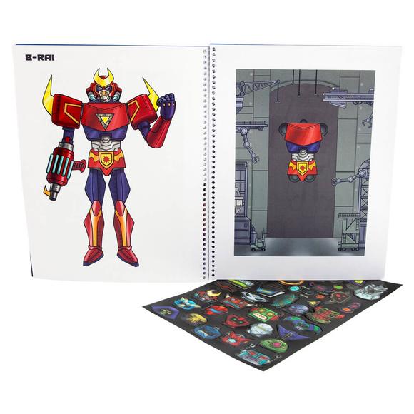 Top Model Robot Boyama Kitabı 41960