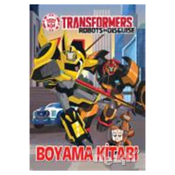Transformers - Boyama Kitabı - Thumbnail