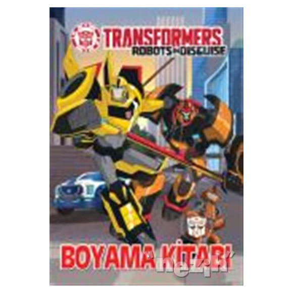 Transformers - Boyama Kitabı