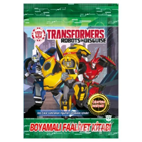 Transformers - Boyamalı Faaliyet Kitabı