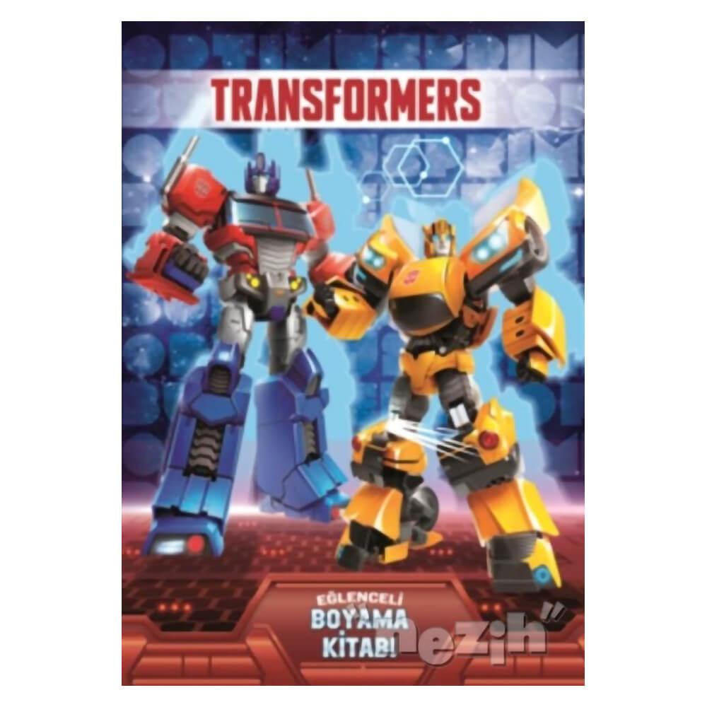 Transformers Eglenceli Boyama Kitabi Nezih
