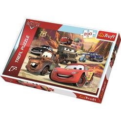 Trefl Cars Dağlara Yolculuk 200 Parça Puzzle 13208 - Thumbnail