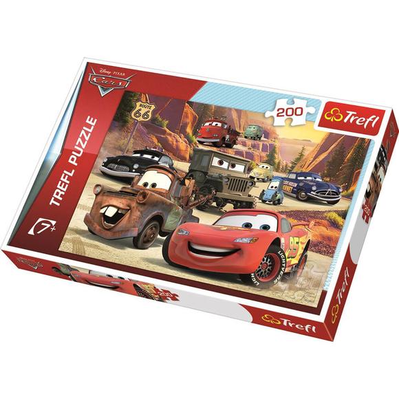 Trefl Cars Dağlara Yolculuk 200 Parça Puzzle 13208