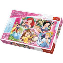Trefl Disney Princesses Charm 100 Parça Puzzle 16339 - Thumbnail
