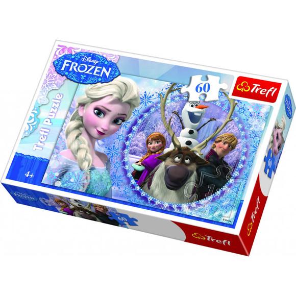 Trefl Friends From The Frozen Land 60 Parça Puzzle 17275