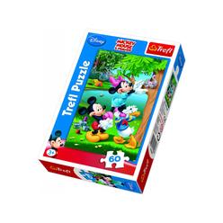 Trefl Mickey Minnie ve Donald Piknikte 60 Parça Puzzle 17198 - Thumbnail