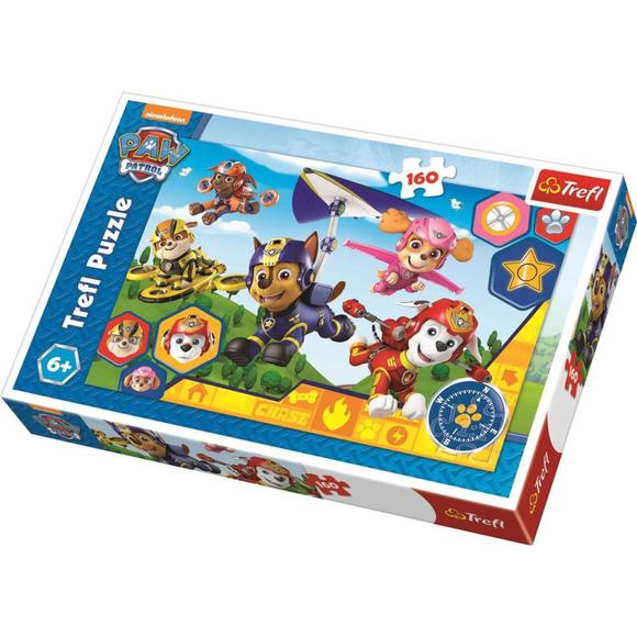 Trefl Paw Patrol Always Ready To Help Viacom 160 Parça Puzzle 15363